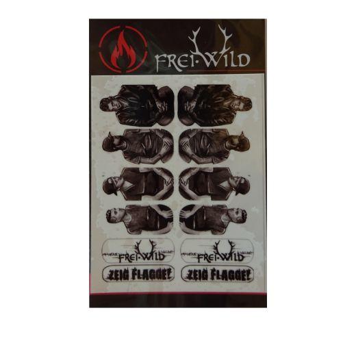 Frei.Wild - Band2, Nail Wraps
