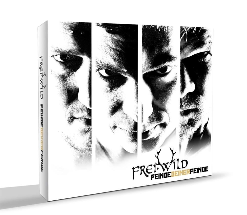 Frei.Wild - Feinde deiner Feinde, Digipak CD+DVD