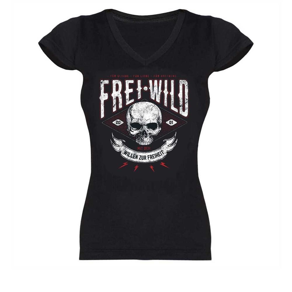 Frei.Wild - Willen zur Freiheit, Girl V-Neck