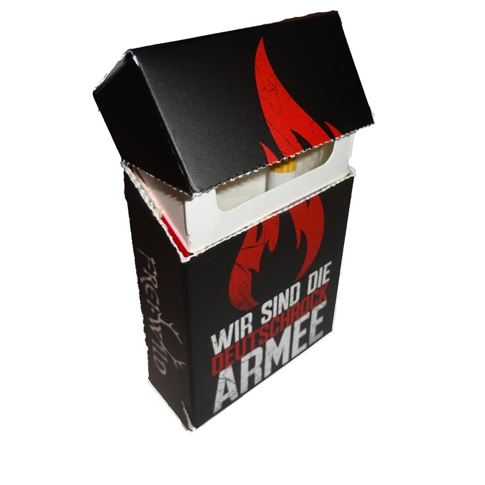 Frei.Wild - Deutschrock Armee, Zigarettenschachtel Hülle