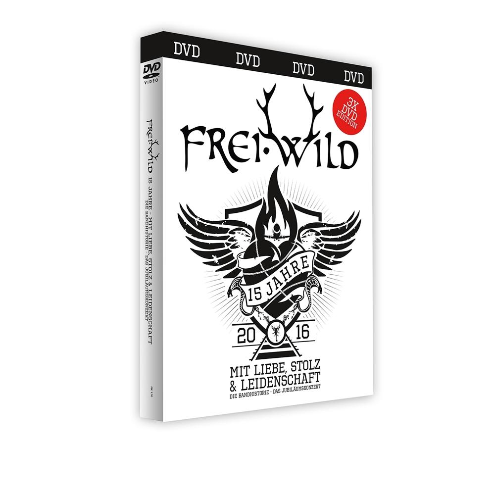 Frei.Wild - 15 Jahre mit Liebe, Stolz und Leidenschaft [3 DVDs]