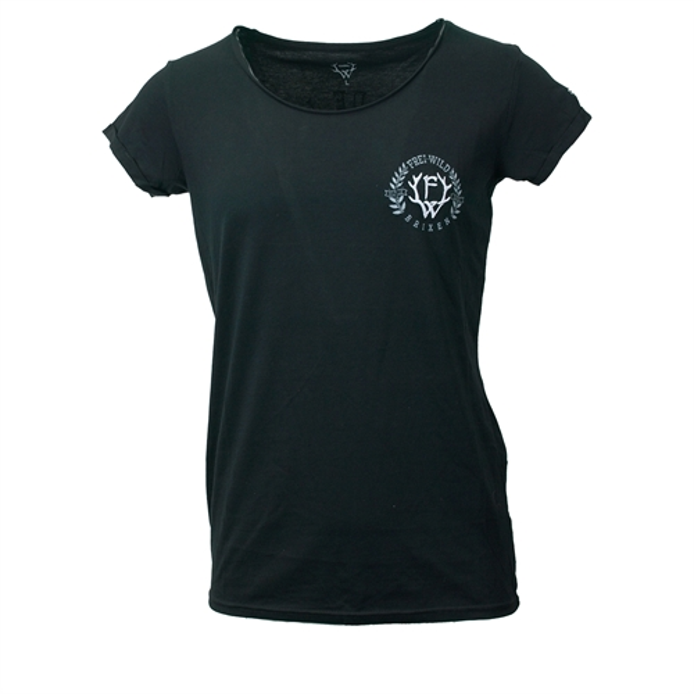 Made in Südtirol Premium, Girl-Shirt (black) *NEU