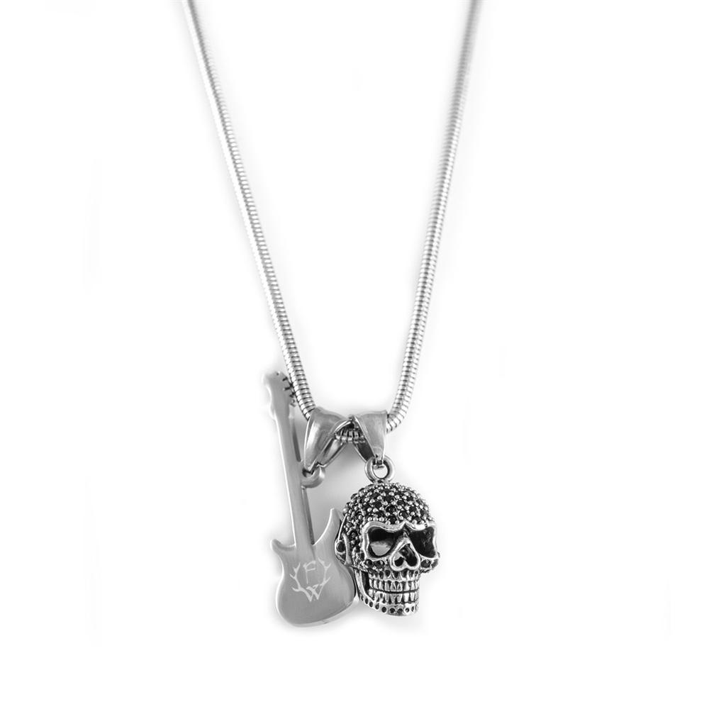 Frei.Wild - GitarrenSkull Halskette