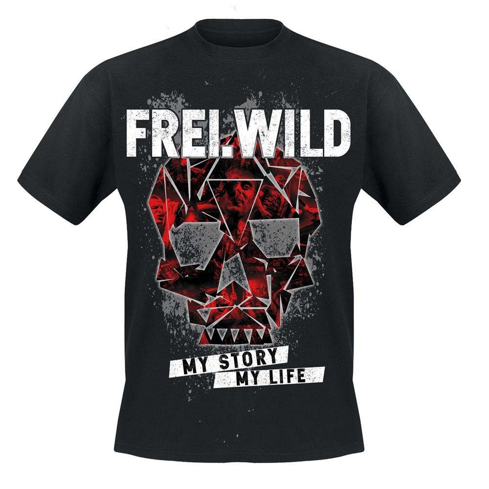 Frei.Wild - My story my life, T-Shirt (rt)
