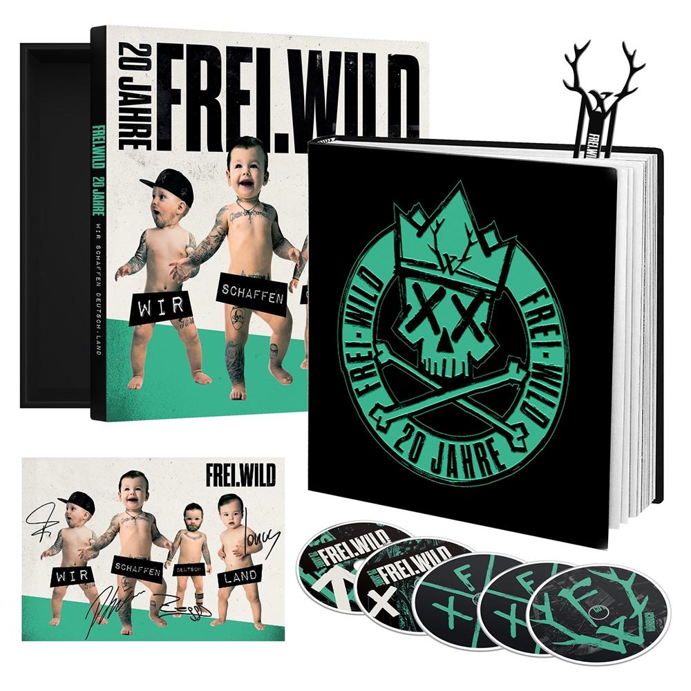 Frei.Wild - 20 Jahre, Wir schaffen Deutsch.Land, ltd. Boxset-Book Edition