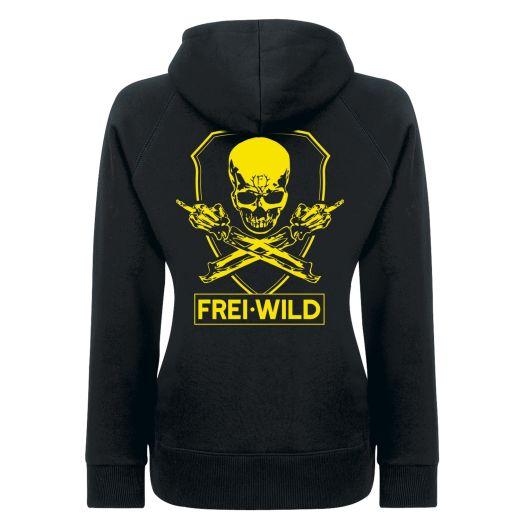Frei.Wild - R&R / Skull, Kapu Girl