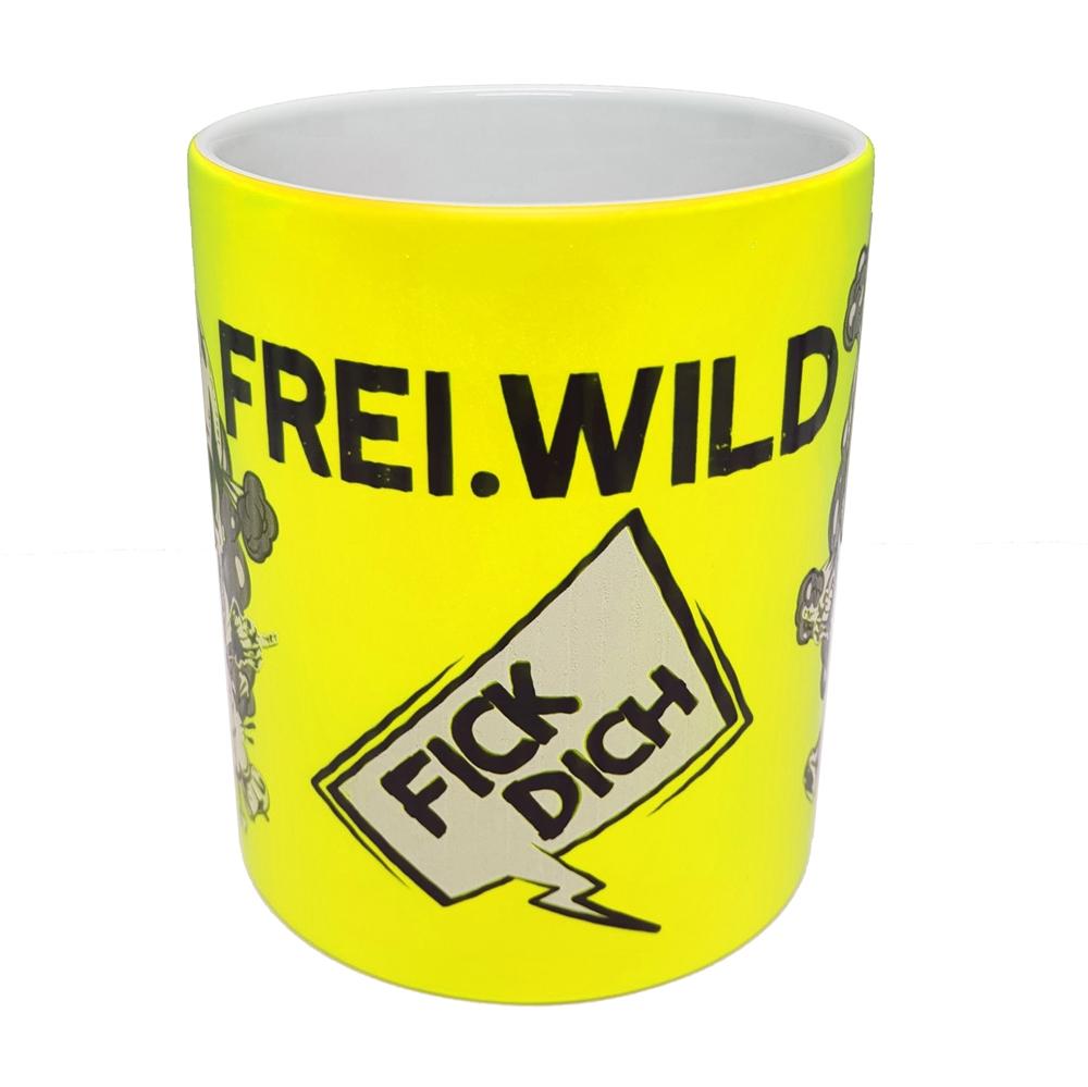 Frei.Wild - FDUVD, Tasse (neongelb)