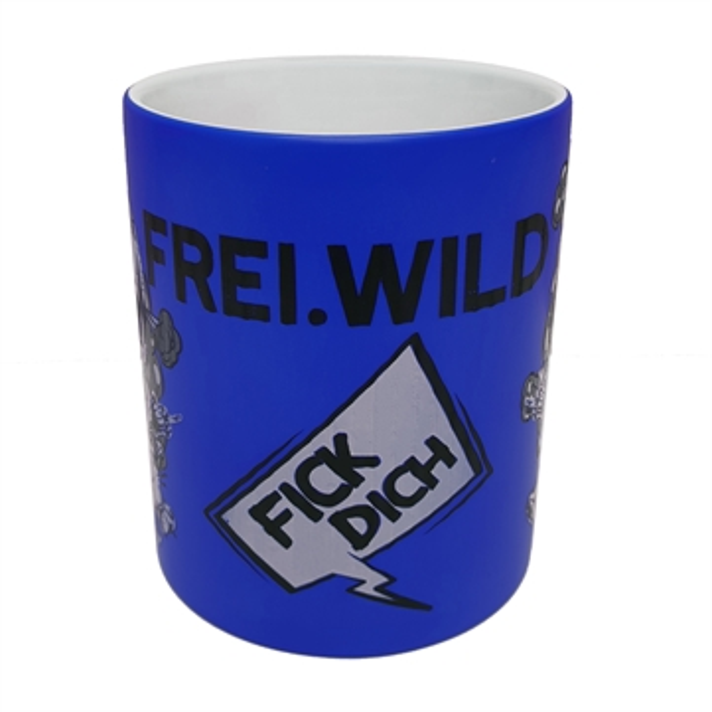 Frei.Wild - FDUVD, Tasse (neonblau)