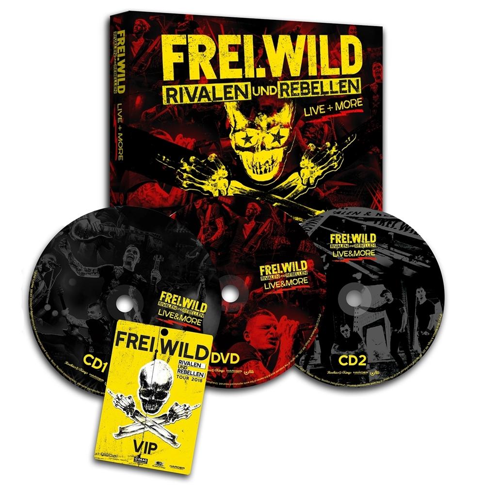 Frei.Wild - Rivalen und Rebellen LIVE&MORE. Ltd. Edition