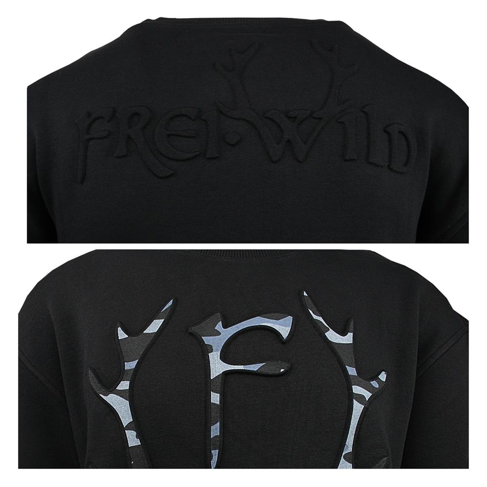 Frei.Wild  3d Camouflage Geweih, Pullover