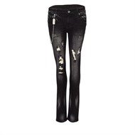 Frei.Wild - B&W Double Layer Vintage, Jeans Girl