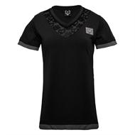 Frei.Wild - B&W LaserCut Neckline, Girl-Shirt