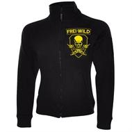 Frei.Wild - R&R / Skull, Girl-Sweatjacke