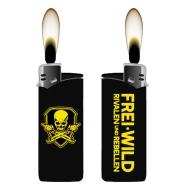 Frei.Wild - R&R, Feuerzeug (schwarz, breit)