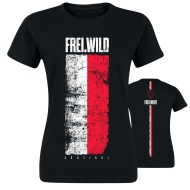 Frei.Wild - Südtirol RotWeiss, Girl-Shirt